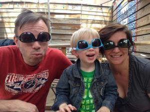 Funny Sunglass Trio