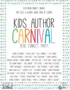 Kids author carnival
